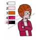 Fry Futurama Embroidery Design 03