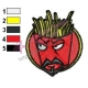 Frylock Aqua Unit Patrol Squad Embroidery Design 04