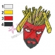 Frylock Aqua Unit Patrol Squad Embroidery Design 05