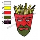 Frylock Aqua Unit Patrol Squad Embroidery Design 08