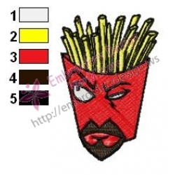 Frylock Aqua Unit Patrol Squad Embroidery Design