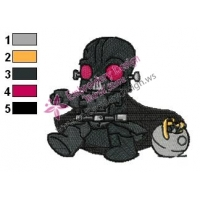 Funny Star Wars Embroidery Design 02