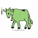 Goat Cow Embroidery Design 01