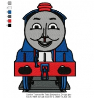 Gordon Thomas the Train Embroidery Design