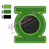 Green Lantern Movie Embroidery Design