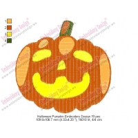 Halloween Pumpkin Embroidery Design 19