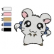 Hamtaro Embroidery Design 05