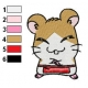 Hamtaro Embroidery Design 13