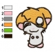 Hamtaro Embroidery Design 18