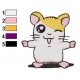 Hamtaro Embroidery Design 41