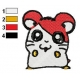 Hamtaro Embroidery Design 58