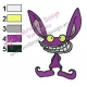 Ickis Real Monsters Embroidery Design 03