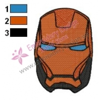 Iron Man Embroidery Design 10