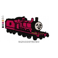 James Thomas the Train Embroidery Design