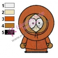 Kenny South Park Embroidery Design