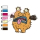 Krumm Real Monsters Embroidery Design 03