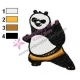 Kung Fu Panda Embroidery Design 03