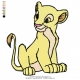 Lion Kid Embroidery Animal_01