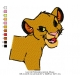 Lion Kid Embroidery Animal_29