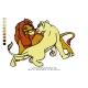 Lion King Embroidery Animal_17