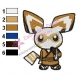 Master Shifu Embroidery Design 07