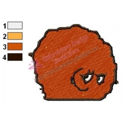 Meatwad Embroidery Design