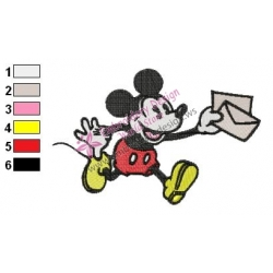 Mickey Mouse Cartoon Embroidery 10