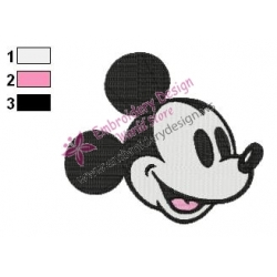 Mickey Mouse Cartoon Embroidery 12