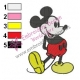 Mickey Mouse Cartoon Embroidery 13