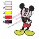 Mickey Mouse Cartoon Embroidery 23
