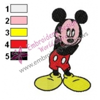 Mickey Mouse Cartoon Embroidery 25