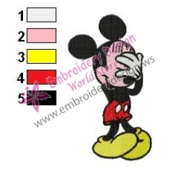 Mickey Mouse Cartoon Embroidery 28