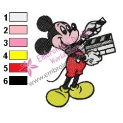 Mickey Mouse Cartoon Embroidery 32