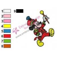 Mickey Mouse Cartoon Embroidery 39