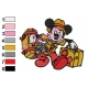 Mickey Mouse Cartoon Embroidery 41