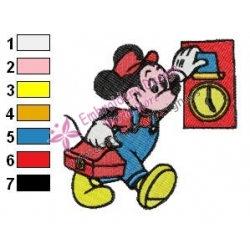 Mickey Mouse Cartoon Embroidery 47