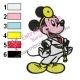 Mickey Mouse Cartoon Embroidery 52