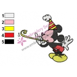 Mickey Mouse Cartoon Embroidery 68