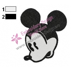 Mickey Mouse Cartoon Embroidery 77