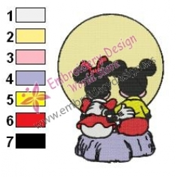 Minnie Mouse Cartoon Embroidery 18