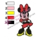 Minnie Mouse Cartoon Embroidery 30