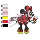 Minnie Mouse Cartoon Embroidery 5