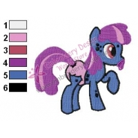 My Little Pony Baby Speckle Embroidery Design