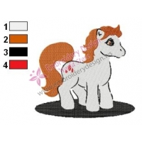 My Little Pony Edward Embroidery Design