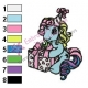 My Little Pony Embroidery Design 02