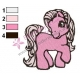 My Little Pony Embroidery Design 06