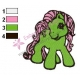 My Little Pony Embroidery Design 07