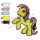 My Little Pony Embroidery Design 08