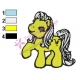My Little Pony Embroidery Design 10