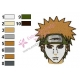 Naruto Shippuuden Face Embroidery Design 04